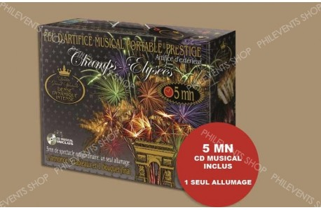 Coffret Portable PRESTIGE CHAMPS-ELYSEES 5