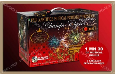 Coffret  Portable PRESTIGE CHAMPS-ELYSEES 130